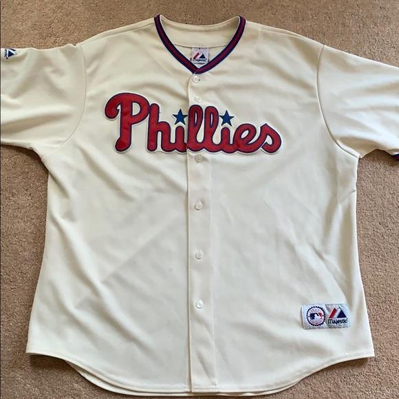 official photos 02ce9 1b7f1 Ryan Howard Philadelphia Phillies MLB Jersey